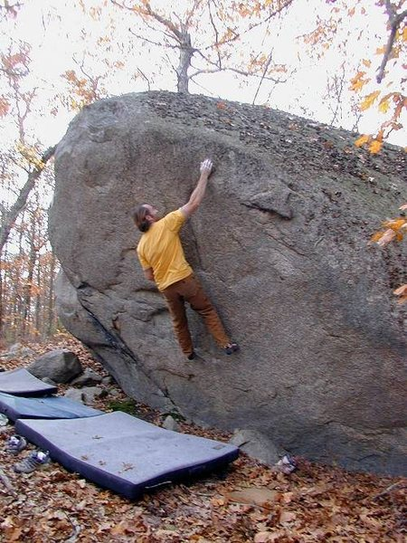 Rock Climbing Photo: Philippe Naulot on Hardest Button to Button.