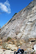Rock Climbing Photo: Start of Army Numbered route 1 and 2.