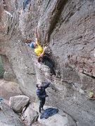 Rock Climbing Photo: Starting up The Dinosaur