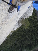 Rock Climbing Photo: hangn