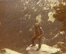 Rock Climbing Photo:  Bill Odenthal 80's