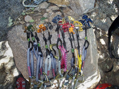 Rock Climbing Photo: New fresh cams...Better than using the old hard st...