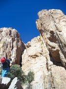 Rock Climbing Photo: Elervum's Cove, Southern Comfort Wall