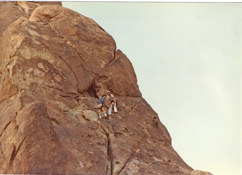 Rock Climbing Photo: Me and Bruce Diffenbaugh on MooseDog Tower Indian ...