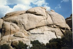 """Rock Climbing Photo: Rock of Ages containing """"Hallow Friction 5.10..."""