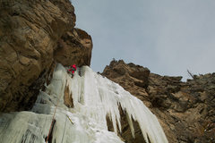 Rock Climbing Photo: Jaws falls. Rocky Mountain National Park. December...