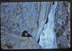 Rock Climbing Photo: Bruce Diffenbaugh coming up the first pitch of the...
