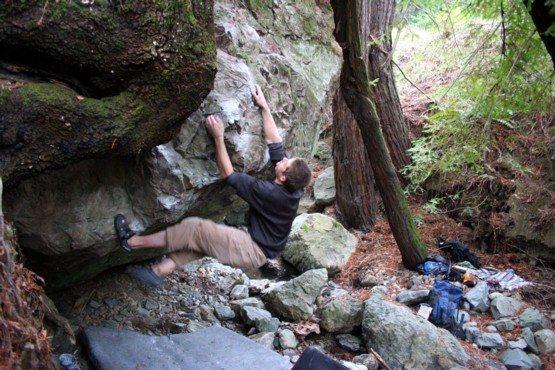 Rock Climbing Photo: crumble mumble V5