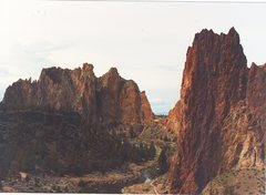 Rock Climbing Photo: Smith Rock Oregon a beautiful place.