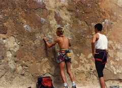 Rock Climbing Photo: The 2 hitch hiking climbers I picked up on my way ...
