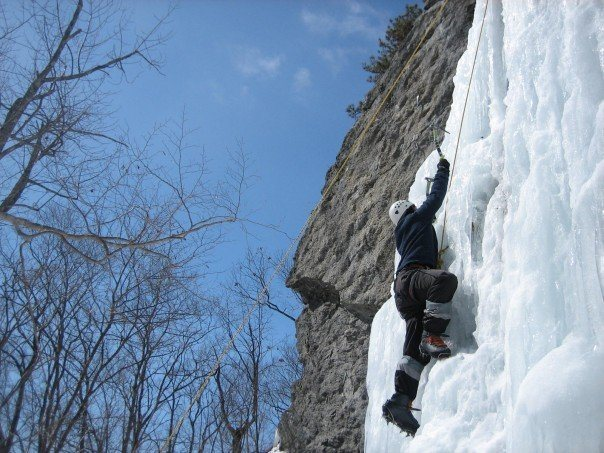 Rock Climbing Photo: Me on Selson Blue