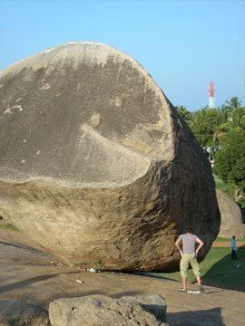 Rock Climbing Photo: Contemplating the heat and the landing.  Krishna's...