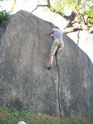 Rock Climbing Photo: Splitter.  Really.