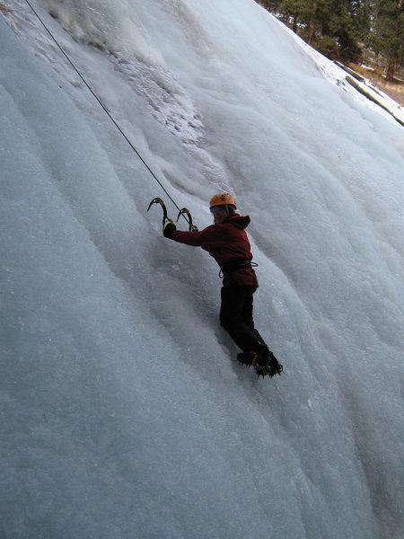 Rock Climbing Photo: Dempsey, Christmas Eve 2008.