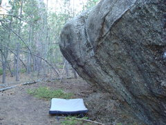 Rock Climbing Photo: Lucky Day. The pad is right below the standing sta...