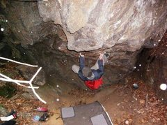Rock Climbing Photo: Midnite Direct, Project, CT