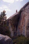 Rock Climbing Photo: City of Rocks, ID- Some 5.10+