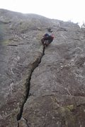 Rock Climbing Photo: The Rose Crack, Classic