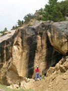 Rock Climbing Photo: My project at Joe's Valley, Utah V10+