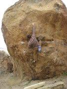 "Rock Climbing Photo: Working ""Annihilator""."