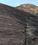Rock Climbing Photo: Sam on P2