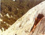 Rock Climbing Photo: Left ski Track 81
