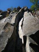 Rock Climbing Photo: the start of 'La Marlon Brando'