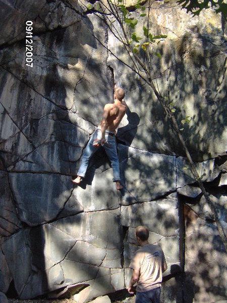 Rock Climbing Photo: Soren