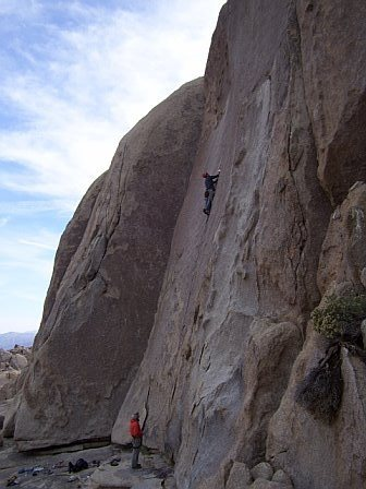 Rock Climbing Photo: zeke styling the Bird of Fire