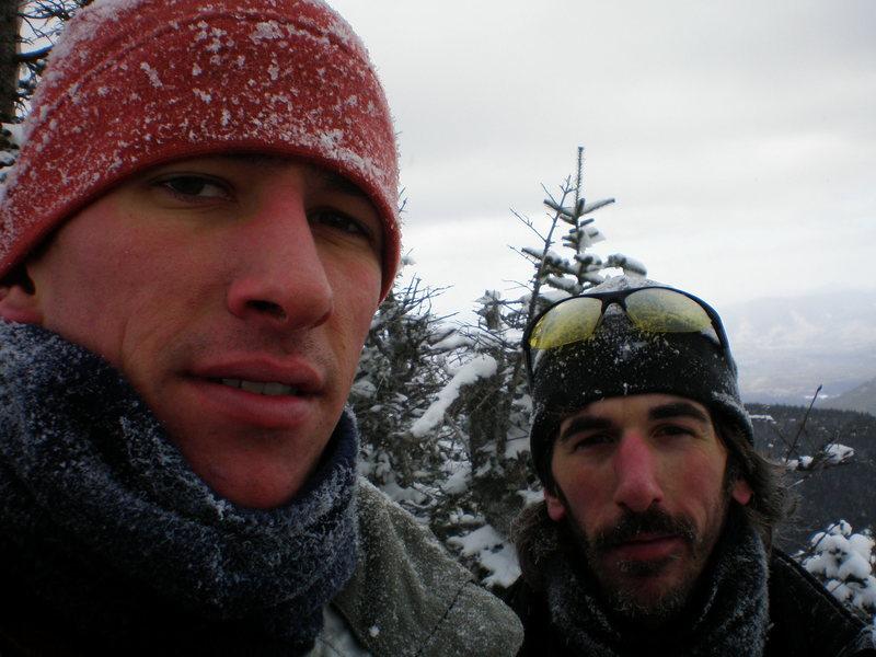 Rock Climbing Photo: jan 08 tripyrimid peaks