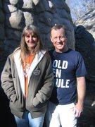 Rock Climbing Photo: Me and my Mrs.