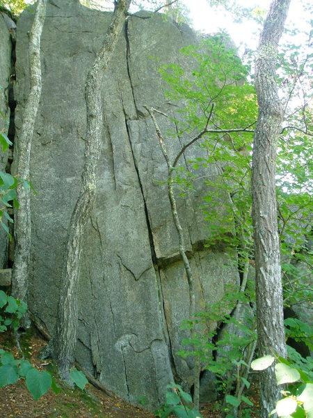 Rock Climbing Photo: One Little Indian, 5.10+.