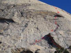 Rock Climbing Photo: Harlequin