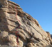 Rock Climbing Photo: New Year's Day