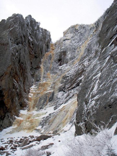 Rock Climbing Photo: black dike/fafnir area