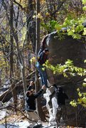 Rock Climbing Photo: Moby Dick (V4)