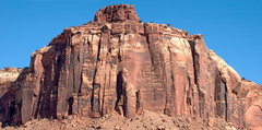 Rock Climbing Photo: broken tooth an example of the panoramics that i s...
