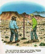 Always cut fence.