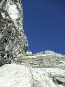 Rock Climbing Photo: Lookin up Grandstand