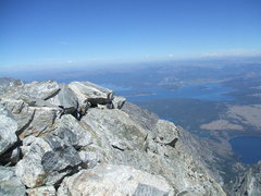 Rock Climbing Photo: after 25 years of topping out...the view never get...