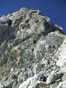 Rock Climbing Photo: Looking up the North Ridge