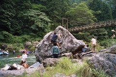 Rock Climbing Photo: A slow day in Mitake