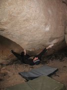 Rock Climbing Photo: Making the intial reach on Raspberry (V6), Joshua ...