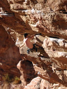 Rock Climbing Photo: Me on Steep Thrills 5.12(-?)