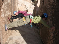 "Rock Climbing Photo: Celebrating the ""feats of strength"" port..."