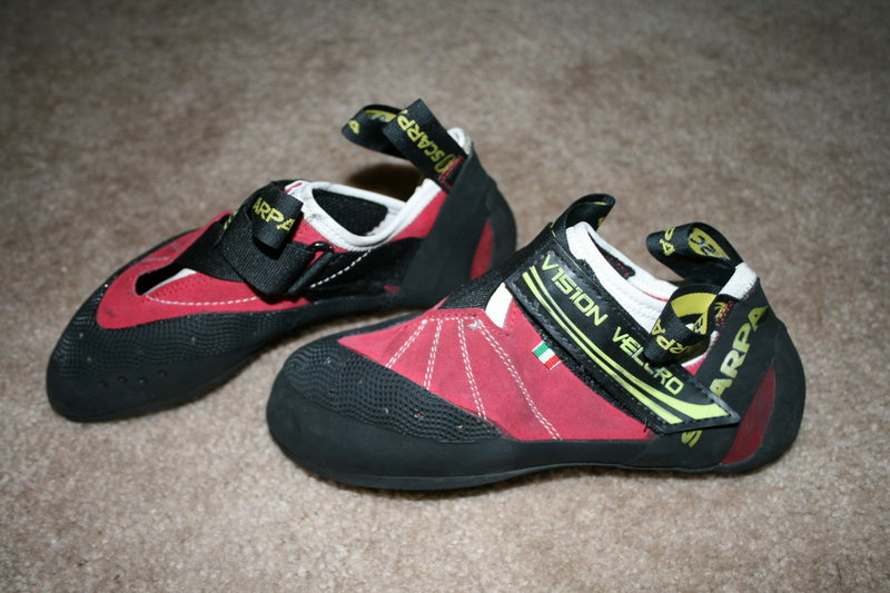 Rock Climbing Photo: Brand new Scarpa Vision shoes, size 36.  $35.