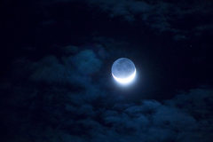 Rock Climbing Photo: Moon in Hawaii... a little noisy but ok...