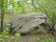 Rock Climbing Photo: One of the Babson Boulders in Dogtown, MA