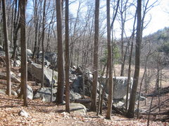 Rock Climbing Photo: Stone boulders