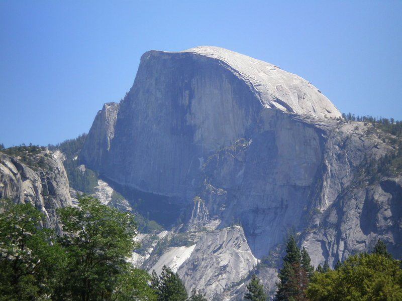 Rock Climbing Photo: There's Half Dome